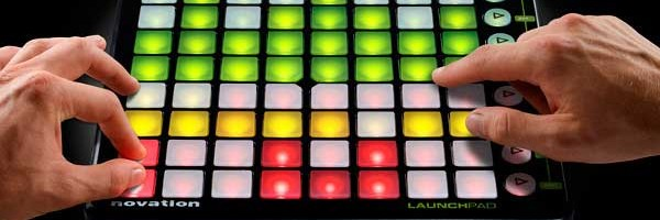 Great video of live performance using Launchpad